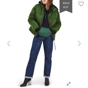 TOPSHOP Matilda green jacket US 2